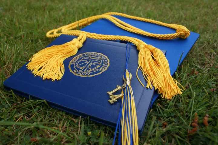 achievement cap celebration ceremony